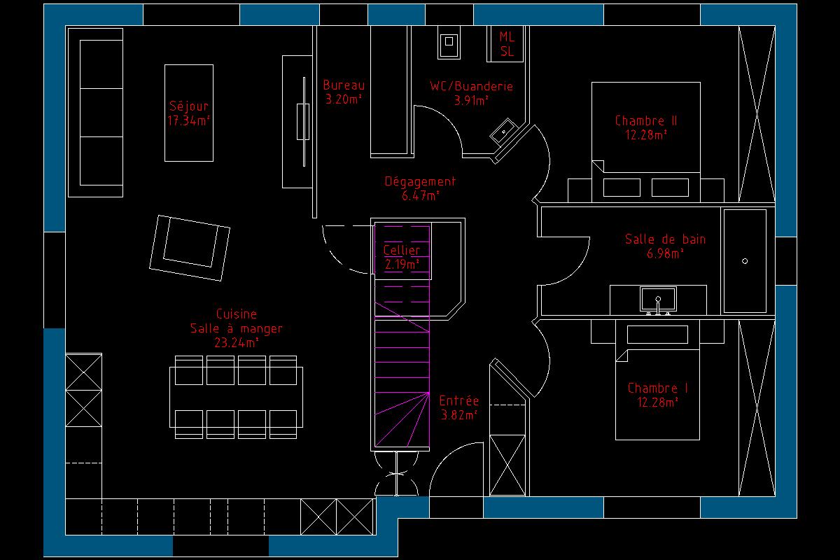 Ou placer la salle de bain 37 messages - La maison de l escalier ...